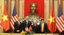Ký kết 4 văn kiện hợp tác trị giá khoảng 22 tỷ USD giữa hai nước Việt Nam-Hoa Kỳ