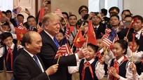 Thông điệp 'vì hòa bình' từ nơi diễn ra thượng đỉnh Mỹ - Triều lần hai