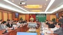 Ủy ban Kiểm tra Trung ương họp xem xét thi hành kỷ luật một số cán bộ