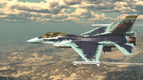 Máy bay chiến đấu F-16 bị rơi ở California