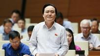 Bộ trưởng Bộ GD&ĐT Phùng Xuân Nhạ nhận trách nhiệm trước Quốc hội