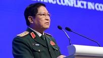 Bộ trưởng Ngô Xuân Lịch phát biểu tại Shangri-La: Hợp tác để từng bước giải quyết mâu thuẫn