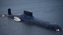 Nga điều tàu ngầm hạt nhân lớn nhất thế giới tham gia tập trận