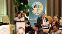 Bộ trưởng Bộ Y tế phát biểu ở hội nghị LHQ về chăm sóc sức khỏe toàn dân