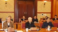 Tổng Bí thư, Chủ tịch nước Nguyễn Phú Trọng chủ trì họp Ban Bí thư xem xét về công tác cán bộ