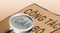 Ban Tổ chức Tỉnh ủy hướng dẫn thực hiện quy trình thẩm định tiêu chuẩn chính trị
