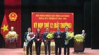 UBND tỉnh Cao Bằng có Phó Chủ tịch 40 tuổi quê Nghệ An