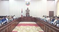 Chính phủ Lào khuyến cáo người dân tránh tụ tập đông người