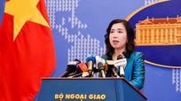 Việt Nam lên tiếng về tình hình phức tạp ở vùng biển một số nước ASEAN
