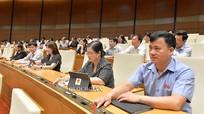Quốc hội biểu quyết thông qua Luật Đầu tư sửa đổi, cấm kinh doanh dịch vụ đòi nợ
