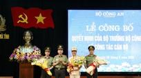 Phó Giám đốc Công an Nghệ An được điều động giữ chức Giám đốc Công an tỉnh Hà Tĩnh