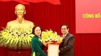 Bộ Chính trị phân công đồng chí Phạm Thị Thanh Trà giữ chức Phó Trưởng Ban Tổ chức Trung ương