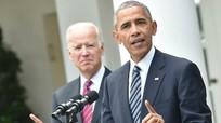 Cựu Tổng thống Mỹ Obama trực tiếp tới bang chiến địa vận độngcho 'cựu phó tướng' Biden