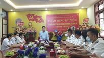 Đồng chí Nguyễn Văn Thông chúc mừng 75 năm ngày truyền thống Thi hành án dân sự