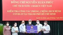 Chủ tịch nước Nguyễn Xuân Phúc: Tính mạng của người dân là trên hết
