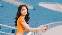 Người đẹp xứ Nghệ Ngọc Nữ khoe sắc ở World Cup