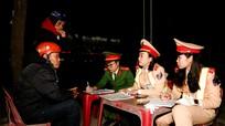 Bi hài chuyện tài xế thổi nồng độ cồn ở Nghệ An
