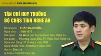 [Infographic] Chân dung tân Chỉ huy trưởng Bộ CHQS tỉnh Nghệ An