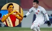 """Những màn ăn mừng chiến thắng U23 Việt Nam """"siêu độc"""" của sao Việt"""