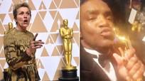 """""""Sốt"""" chuyện đánh cắp tượng vàng Oscar 2018 rồi khoe là của mình trên Facebook"""