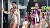 """""""Bí kíp"""" khoe chân dài của H'Hen Niê tại Miss Universe"""