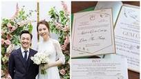 Vì sao thiệp cưới của Đàm Thu Trang và Cường Đô la gây tranh cãi?