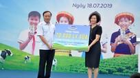 Quỹ Sữa vươn cao Việt Nam và Vinamilk tặng 70.000 ly sữa cho học sinh Thái Nguyên