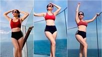 Ca sỹ Mỹ Lệ khoe body gợi cảm với bikini ở tuổi U50