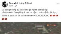 Sao Việt 'quá khích' ăn mừng chiến thắng tuyển Việt Nam 'hạ gục' UAE trên sân Mỹ Đình