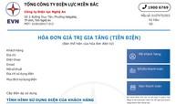 Công ty Điện lực Nghệ An chính thức sử dụng mẫu hóa đơn điện tử mới từ ngày 1/3/2020