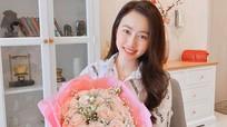 Tiến Linh và diễn viên Hồng Loan 'thả thính' trên mạng xã hội