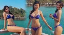 Bạn gái hot girl của thủ môn Đặng Văn Lâm tung ảnh bikini gây 'sốt'