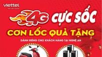 Khách hàng Viettel Nghệ An có cơ hội trúng xe máy điện VinFast và nhiều quà tặng hấp dẫn