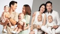 10 cặp song sinh đáng yêu của sao Việt