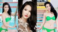 Nhan sắc nóng bỏng của Diệp Lâm Anh thuở đi thi hoa hậu