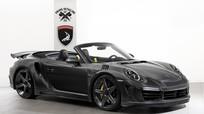 Bản độ Porsche 911 Turbo S dát vàng và sợi carbon từ Nga