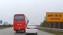 """Những lỗi giao thông """"như cơm bữa"""" trên đường cao tốc ở Việt Nam"""