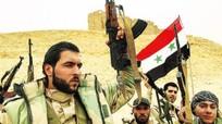 Syria giải phóng miền Nam, cắm cờ trên biên giới Jordan