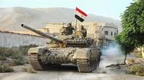 """""""Thế chân vạc"""" khó gỡ đối với Quân đội Syria"""