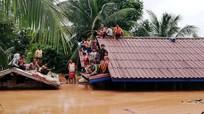 Dùng trực thăng giải cứu 24 công nhân Việt bị cô lập sau sự cố vỡ đập Lào