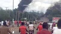 Nổ lớn tại trạm gas ở Nigeria làm 35 người chết