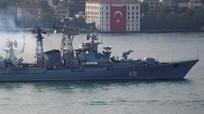 Ukraine muốn Thổ Nhĩ Kỳ đóng eo biển để chặn tàu chiến Nga