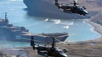 Mỹ tiến vào Caspian, Nga - Iran quyết định tập trận