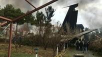 Máy bay Boeing 707 chở 10 người rơi gần thủ đô Iran