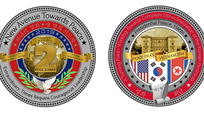 """Nhà Trắng phát hành đồng xu """"đàm phán hòa bình"""" có hình ảnh Việt Nam"""