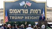 Israel lập khu định cư Cao nguyên Trump tại Golan; Iran nâng mức làm giàu uranium lên 20%