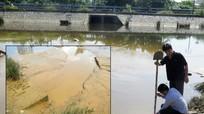 Vụ bùn thải 'bức tử' hồ điều hòa: Lai lịch đáng ngờ của chiếc cống ngầm!