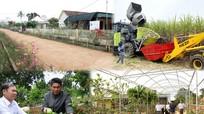 Cả hệ thống chính trị Nghĩa Đàn vào cuộc xây dựng nông thôn mới
