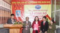 Doanh nghiệp tư nhân đầu tiên ở Đô Lương thành lập chi bộ Đảng