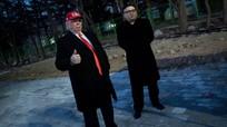 """Cùng ngắm """"Kim Jong-un"""" và """"Donald Trump"""" tại lễ khai mạc Olympic 2018"""